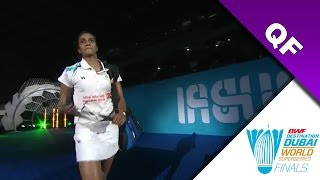 Dubai Superseries Finals 2016 | QF | Carolina Marin vs Pusarla V. Sindhu [HD]