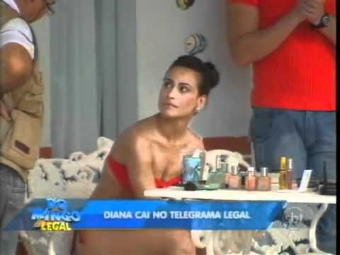 Domingo Legal Diana e Kelly Key no Telegrama Legal