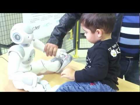 Talal Playing with Robot Nao.mp4
