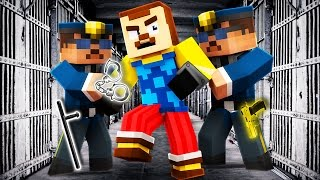 Minecraft - HELLO NEIGHBOR - NEIGHBOR GOES TO PRISON?