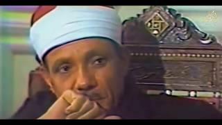 حديث شيق مع الشيخ عبد الباسط ونصيحة لمن يريد أن يتعلم قراءة القرآن الكريم