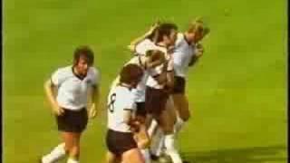 Germany vs. Albania 1971