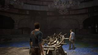 Uncharted 4: A Thief's End™ island wheel and lights puzzle solution