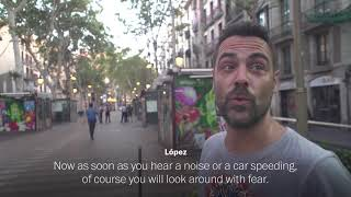 Barcelona attack witness: 'People were running for their lives'