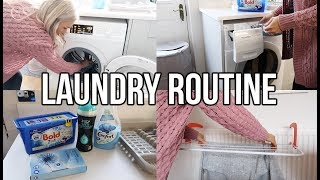 MY LAUNDRY ROUTINE 2017
