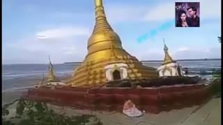 Detik detik pagoda megah myanmar roboh diterpa banjir