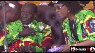 Grace orders Robert Mugabe to clean himself up