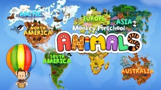 Monkey Preschool Animals App for Kids