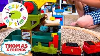 Thomas Train TIDMOUTH TIMBER YARD! Thomas and Friends with Brio and Trackmaster | Toy Trains 4 Kids