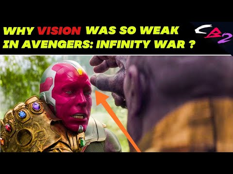 Xxx Mp4 Why Vision Was So Weak In Avengers Infinity War In HINDI 3gp Sex