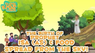 Prophet Stories For Kids in English | Prophet Isa (AS) Part-3 | Islamic Kids Stories with Subtitles