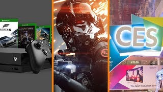 Xbox Exclusive Dates Leaked? + Battlefront 2 Wins December + CES Power Outage