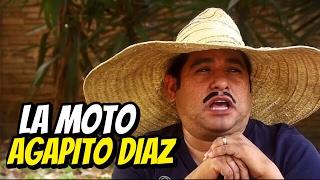 Agapito Diaz y la moto - JR INN
