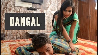 Wife Wrestling with Husband Comedy- DANGAL