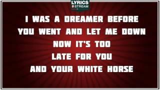 White Horse - Taylor Swift tribute - Lyrics