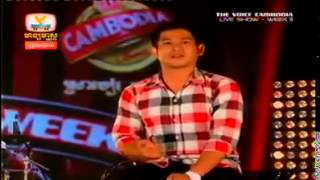 The Voice Cambodia # Live Show # 26 October 2014# Ly Sok Net