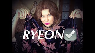 Одежда с Aliexpress RYEON FASHION STORE 