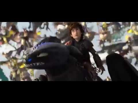How to Train Your Dragon 2: Toothless vs Bewilderbeast - ENDING SCENE (MAJOR SPOILERS)