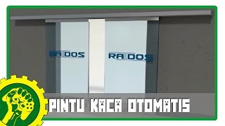 Minecraft Tutorial - Membuat Pintu Kaca Otomatis