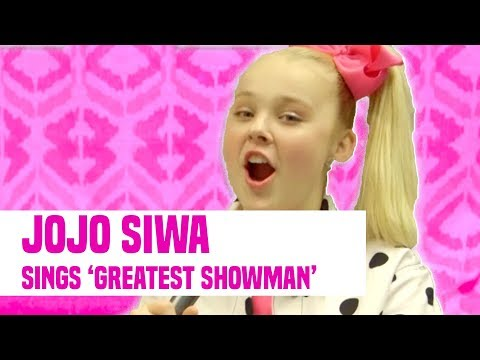 "JoJo Siwa Sings ""The Greatest Showman"" + Kids Choice Awards Interview"