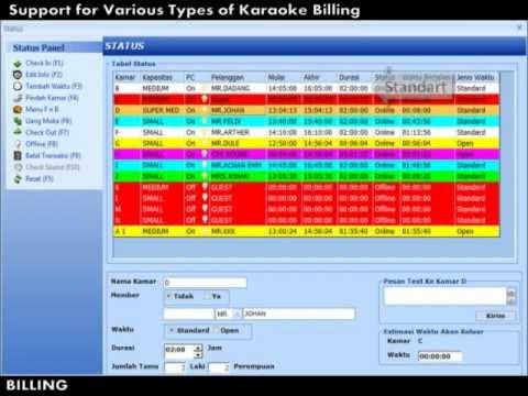 software karaoke terbaik - sistem billing karaoke