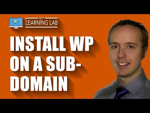 Xxx Mp4 Install WordPress On A Subdomain Of An Existing WP Site WordPress Subdomain WP Learning Lab 3gp Sex