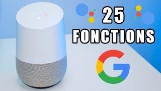25 Fonctions de la Google Home en Français !