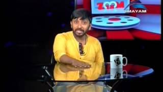 imayam tv zoom in simbu talk  theresha ellenna nayandhara film  23 09 2015
