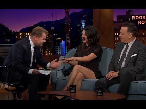 Xxx Mp4 James Corden Makes Mila Kunis Admit She Has Married Ashton Kutcher On Late Late Show Premiere 3gp Sex
