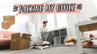 WE OFFICIALLY STARTED PACKING!   WE