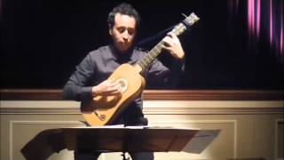 Passacaille by Henry Grenerin - Israel Golani, Baroque guitar