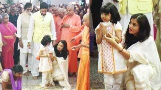 Aishwarya Rai teaching Aaradhya, how to offer prayers; Watch Video | Filmibeat