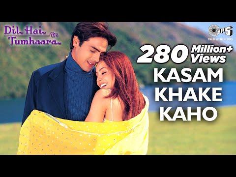 Kasam Khake Kaho Video Song Dil Hai Tumhaara Preity Arjun & Mahima Alka Y & Kumar Sanu