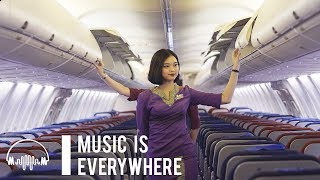Musik Dari Suara Pesawat | EPIC Music Made From Airplane Sounds | Music Is Everywhere #16