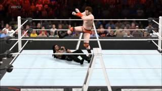 TLC: Sheamus vs. Roman Reigns. TLC Match; WWE Worl