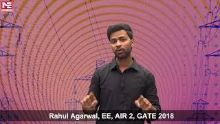 Rahul Agarwal, EE, AIR 2, GATE 2018