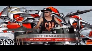ARIF CITENX & RATNA ANTIKA - DUET BINGUNG [ OFFICIAL KARAOKE MUSIC VIDEO ]