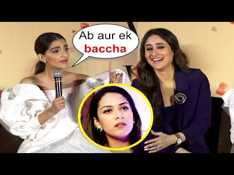 Xxx Mp4 Sonam Kapoor Takes A Dig At Mira Rajput Pregnant Again At Veere Di Wedding Trailer Launch 3gp Sex