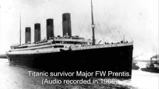 RMS Titanic Survivors True Accounts of The Sinking