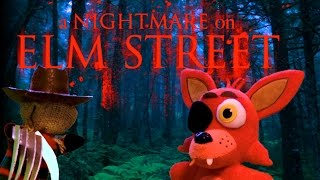 FNAF plush - A Nightmare On Elm Street