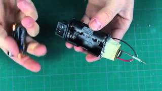 [RM Collection]How to make a mini Battery Powered Soldering Iron