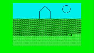 Advanced Lawnmower Simulator ZX Spectrum
