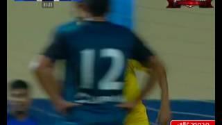محمود غالي يسجل هدف طنطا في مرمى إنبي