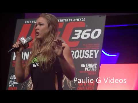 Ronda Rousey's Favorite Thing is SEX!