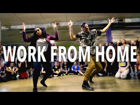 WORK FROM HOME - Fifth Harmony ft Ty Dolla $ign | @MattSteffanina Choreography Mp3