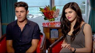 BAYWATCH EXCLUSIVE: Zac Efron and Alexandra Daddario
