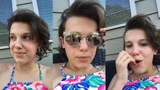 Millie Bobby Brown | Instagram Live Stream | 9 July 2017