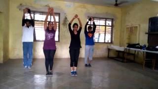Mfim dance- Roop Suhana lagta hai practice video