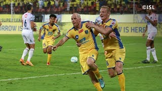 ISL Season 4| Kerala Blasters Vs Delhi Dynamos FC| Iain Hume penalty kick