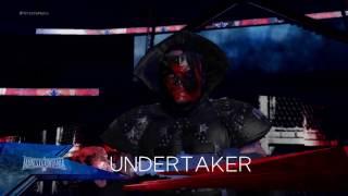 WWE 2K17 Undertaker Wearing Kanes Mask